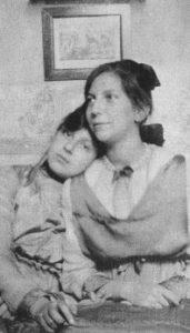 Juanita z siostrą